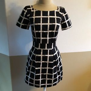 Size 0 French Connection Peplum Dress